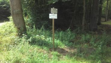 Sopockie leśne trasy rowerowe zyskały tabliczki informacyjne [MAPA]