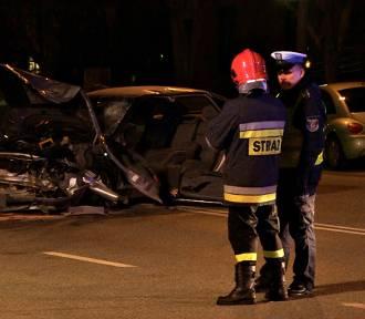 Groźny wypadek na ulicy Wojska Polskiego