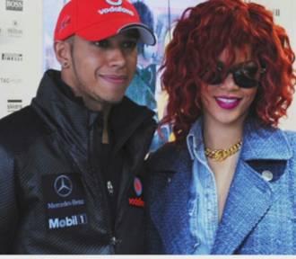 Lewis Hamilton ma romans z Rihanną? Para przyłapana na romantycznej kolacji