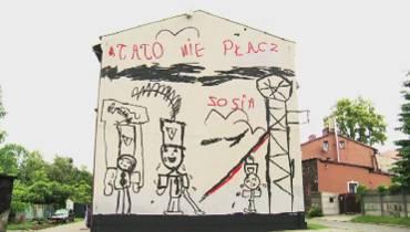 Mural Zosi z Zabrza robi furorę w całej Polsce [wideo]
