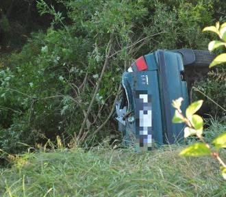 Śmiertelny wypadek w Miastku. Nie żyje 1 osoba [ZDJĘCIA,WIDEO]