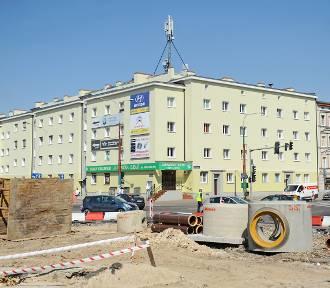 Ulica Dąbrowskiego: Kolejne dni remontu [ZDJĘCIA]