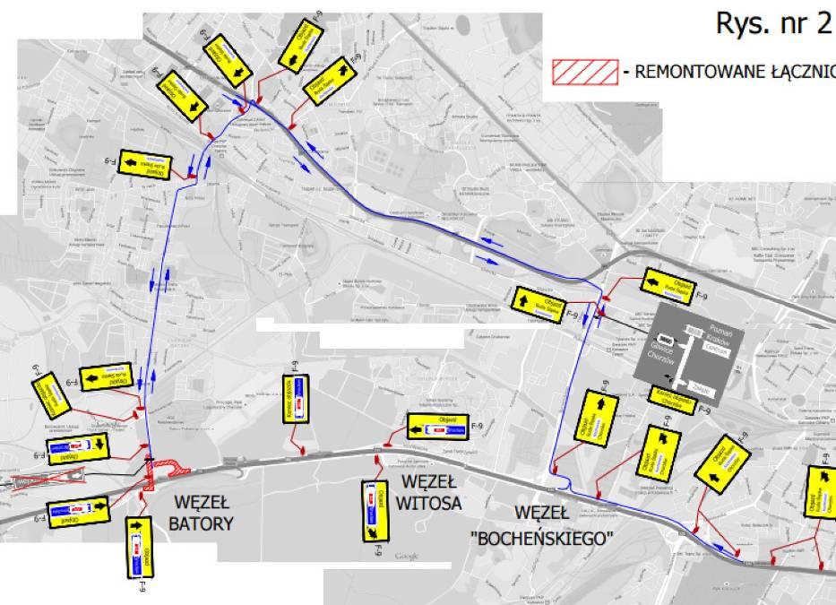 Remont autostrady A4 w Katowicach i Chorzowie