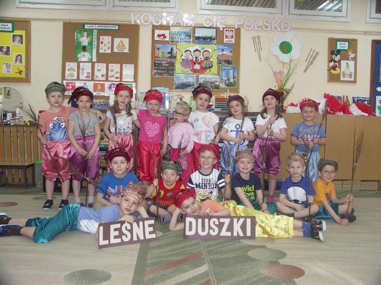 Leśne Duszki - Przedszkole Maciuś w Krotoszynie