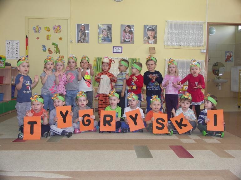 Tygryski - Przedszkole Maciuś w Krotoszynie