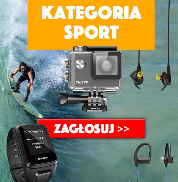 Wakacyjny Produkt Roku 2016. Kategoria Sport
