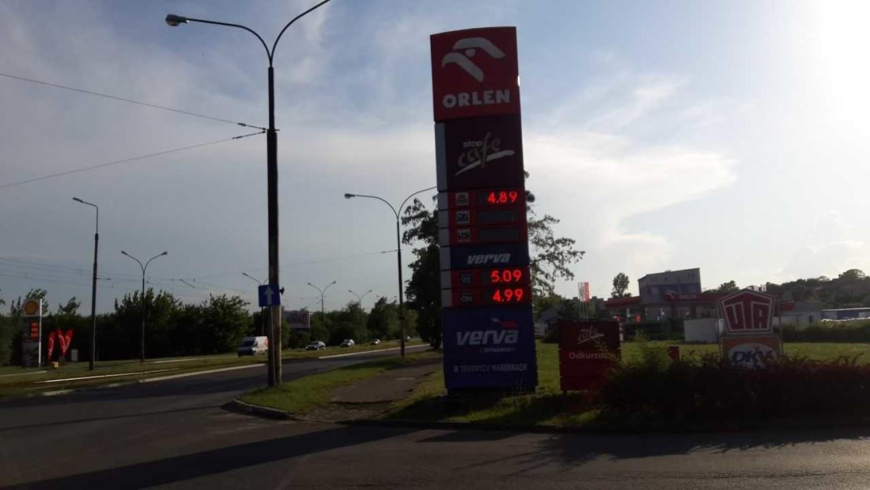Stacja paliw Orlen w Dąbrowie Górniczej