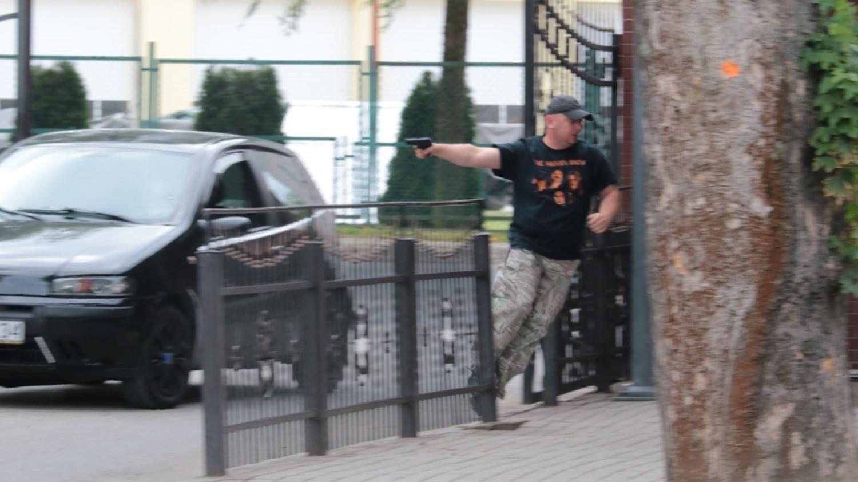 5 Batalion Strzelców Podhalańskich w Przemyślu doskonalił swoje umiejętności w zakresie praktycznego ćwiczenia pozorowanego naruszenia systemu ochrony połączonego z alarmem pożarowym