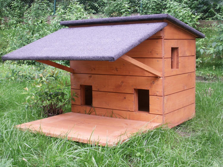 Znalezione obrazy dla zapytania domki dla kotów na zimę
