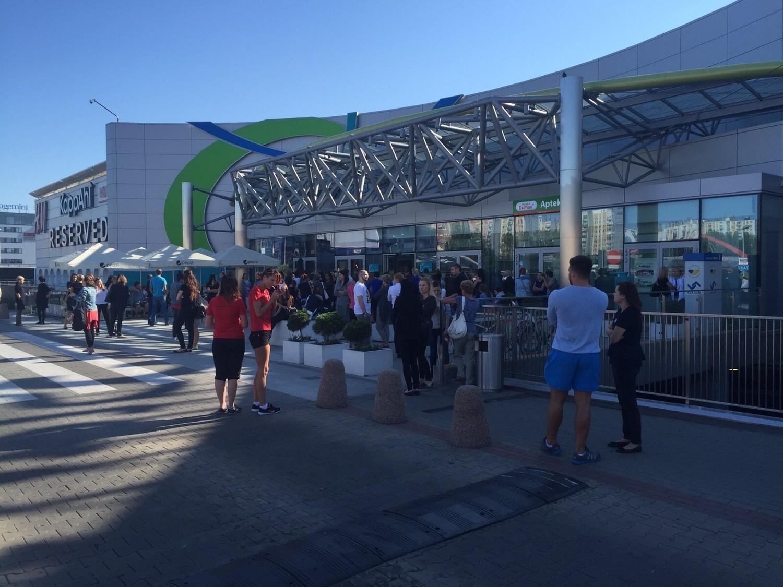 Katowice ewakuacja centrum handlowego 3 stawy katowice for Benetton 3 stawy katowice