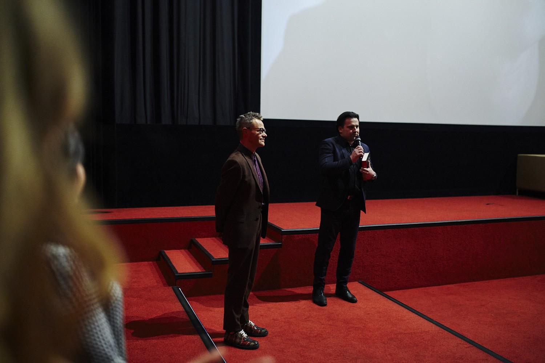 """Kinga Preis na premierze filmu """"Plan B"""" i """"Maglu filmowym"""" Łukasza Maciejewskiego"""