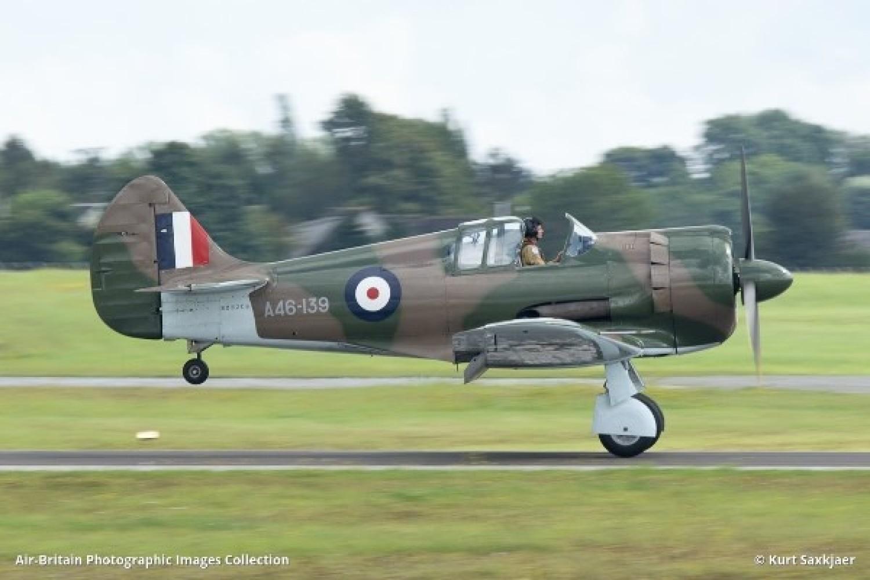 Australijski myśliwiec Boomerang w brytyjskich barwach