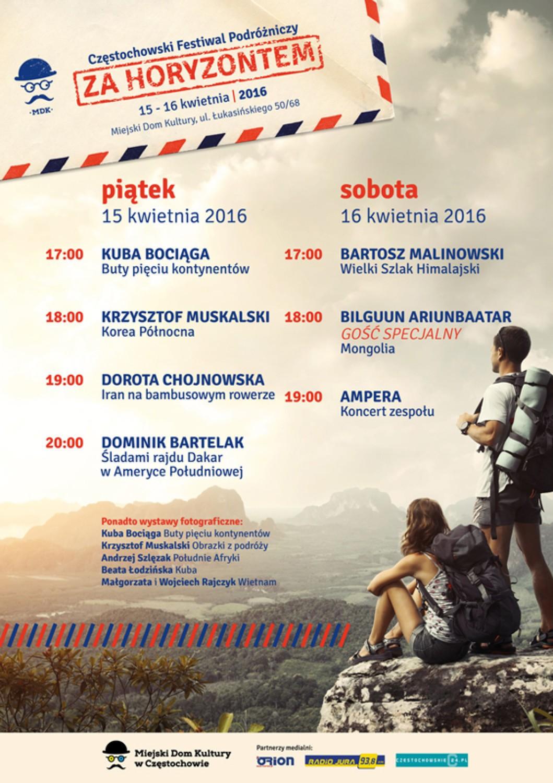 Częstochowa Festiwal Za Horyzontem Już W Ten Weekend Program