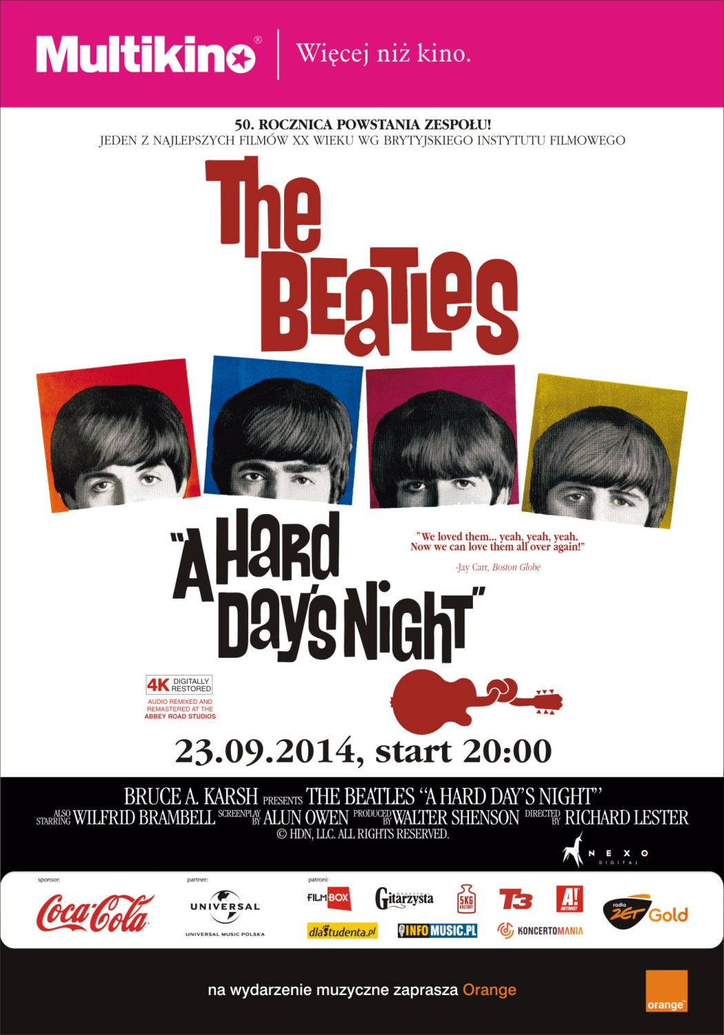 "The Beatles Polska: Film ""A Hard Day"