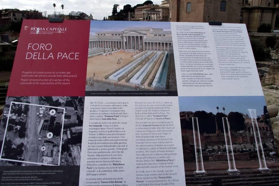 Forum Romanum - zespół zabytków zgrupowanych pomiędzy Koloseum, Kapitolem i Palatynem