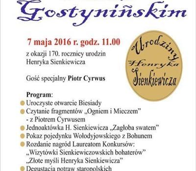 Urodziny Henryka Sienkiewicza Zamek Gostyniński Gostynin