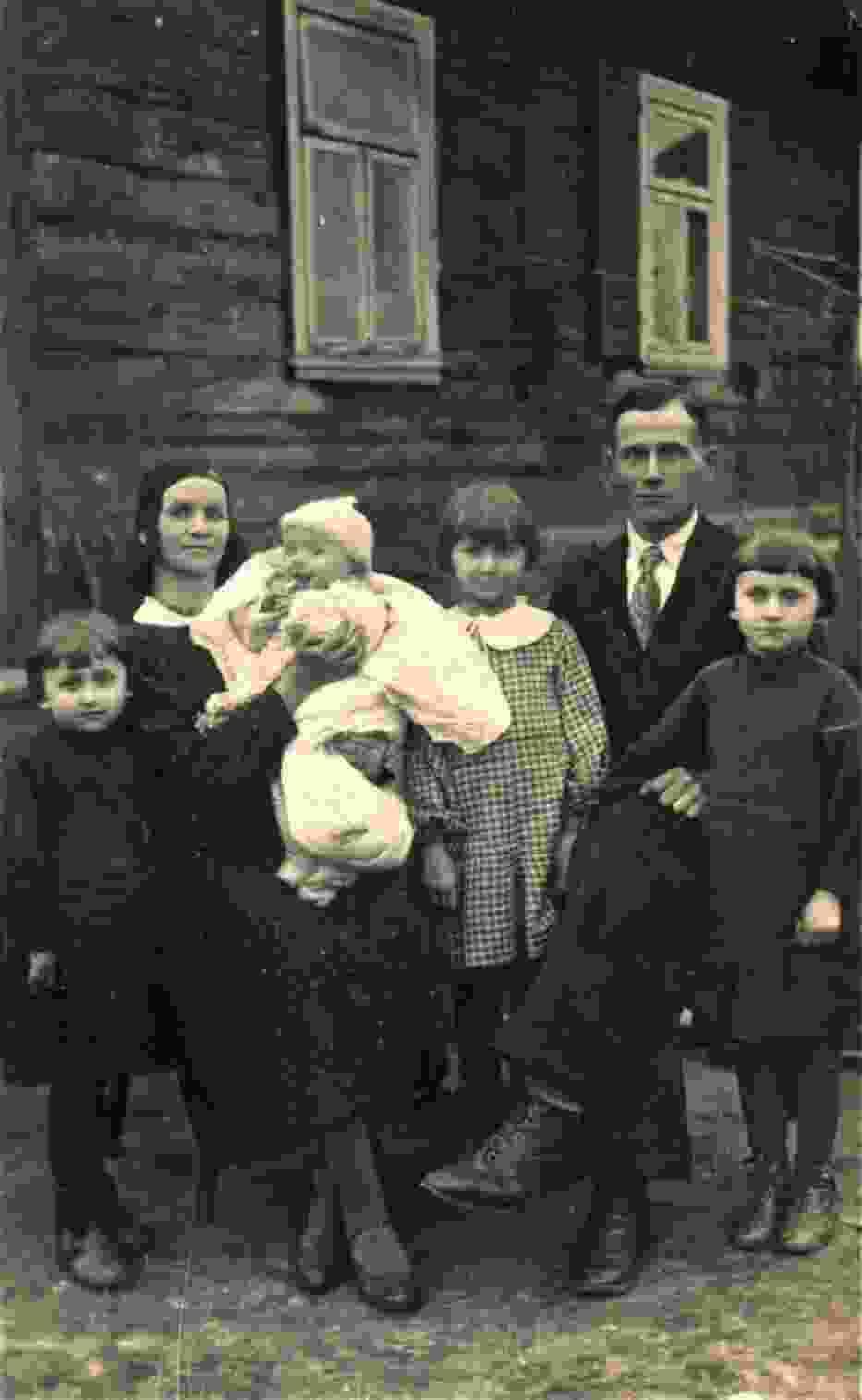 Rodzina Żukowskich, Hajnówka, 1936 r.