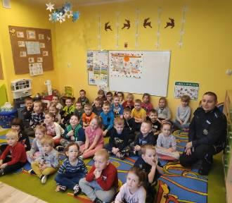 Dzielnicowi spotkali się z przedszkolakami w powiecie radziejowskim [zdjęcie]