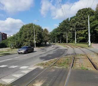 Wypadek rowerzysty w Gdańsku. Nieprzytomny został zabrany do szpitala