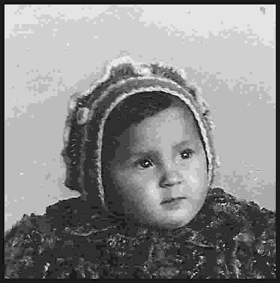 Wanda w okresie dzieciństwa w latach 70