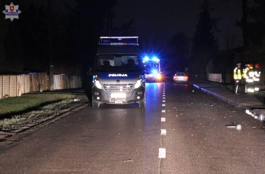Do dwóch tragicznych wypadków doszło minionej doby na drogach województwa lubelskiego