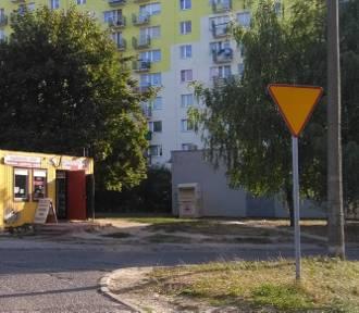 Na Piaskach w Gorzowie strażacy mieli pracowitą noc [ZDJĘCIA]