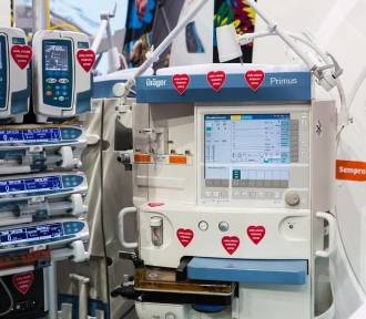 Tego sprzętu nie byłoby w pomorskich szpitalach bez WOŚP