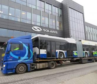 Nowiutkie elektryczne autobusy w drodze do Krakowa. MPK kupiło 50 autobusów