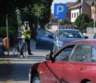Potrącenie rowerzystki w Rozdrażewie [FOTO]