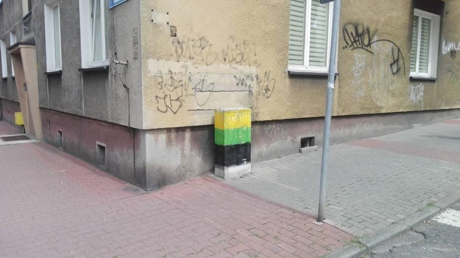 Katowice, róg Kominka i Adamskiego