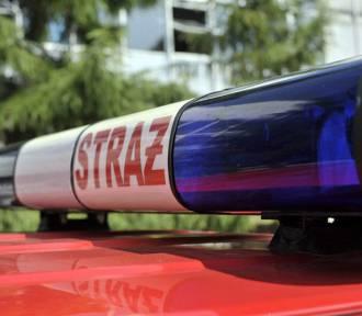 Strażak ranny podczas akcji w Kościerzynie opuścił już szpital