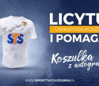 Licytacja unikatowej koszulki Jagiellonii Białystok