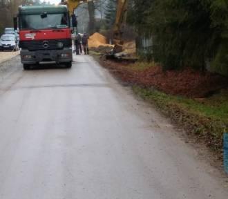Przebudowa drogi w Leniszkach w gminie Czarnożyły za prawie milion złotych ZDJĘCIA