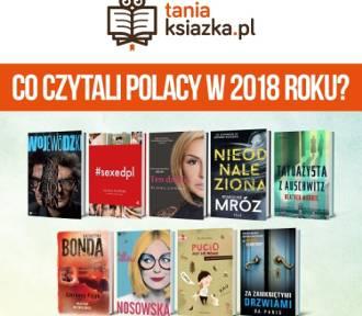 Co czytaliście w 2018 roku? Po tytuły tych autorów Polacy sięgali najchętniej