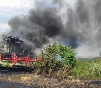 Dachowanie kombajnu, pożary i inne wypadki podczas prac w polu. Policja apeluje