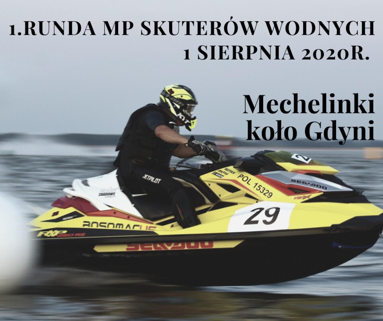 Mechelinki: 1. runda MP Skuterów Wodnych