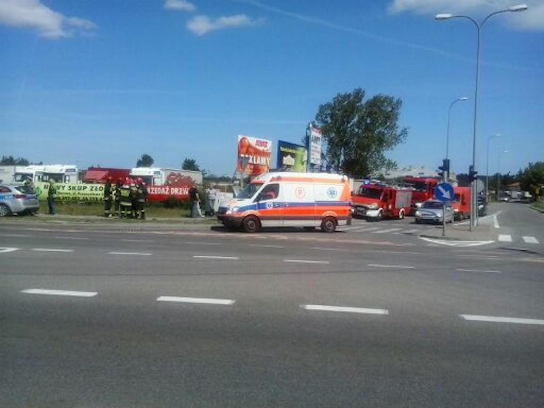 Wypadek w Wejherowie