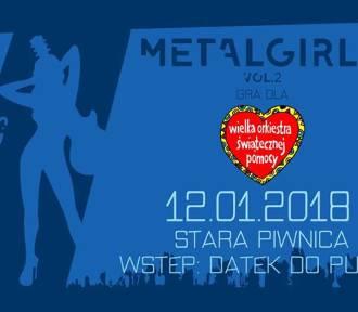 WOŚP 2018 we Wrocławiu. Metal Girls zagrają na Finale w Starej Piwnicy