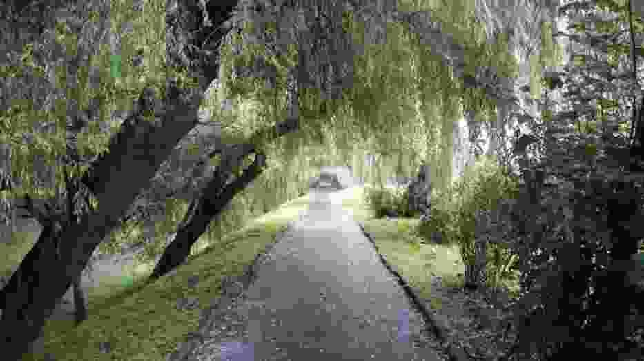 Park nad Krzeszówką - górnym biegiem Rudawy