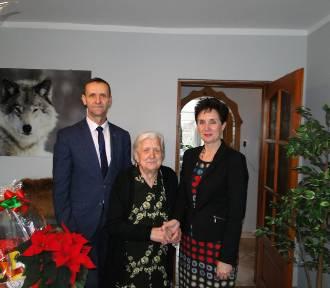 Pani Wiktoria Nowak obchodziła jubileusz 97-mych urodzin