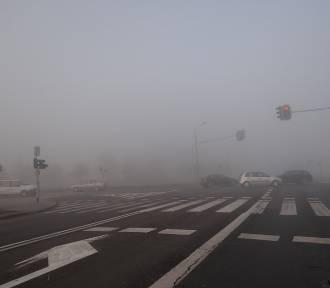 Ostrzeżenie przed silną mgłą. Od środy wieczorem