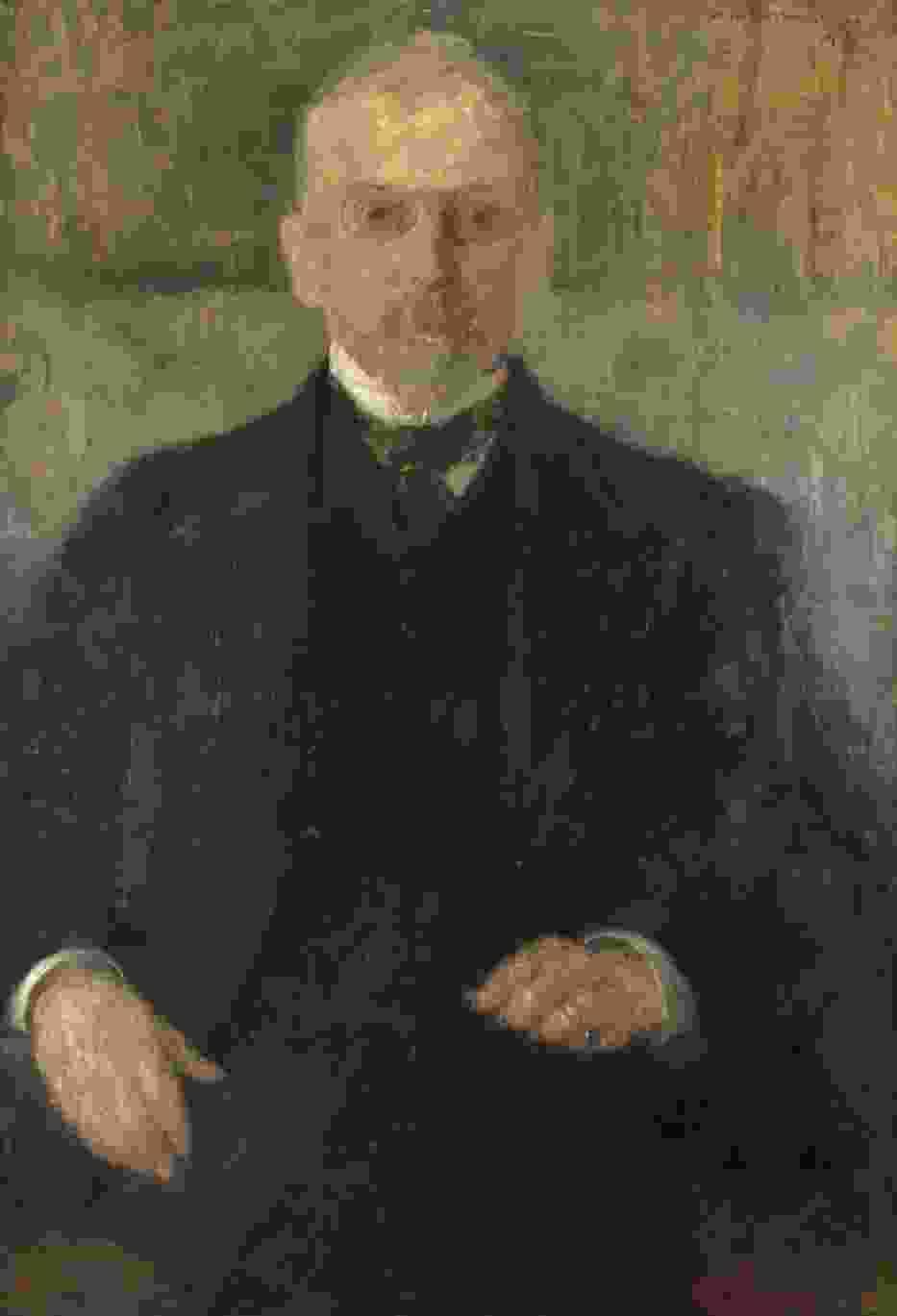 Olga Boznańska, Portret Henryka Sienkiewicza, 1913, Dzięki uprzejmości Muzeum Narodowego w Krakowie
