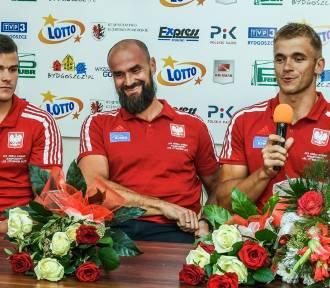 Lotto-Bydgostia powitała swoich medalistów MŚ [zdjęcia]