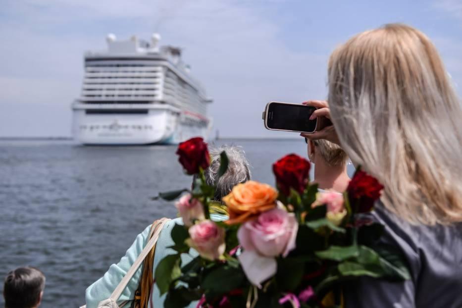 Największy wycieczkowiec w historii gdyńskiego portu