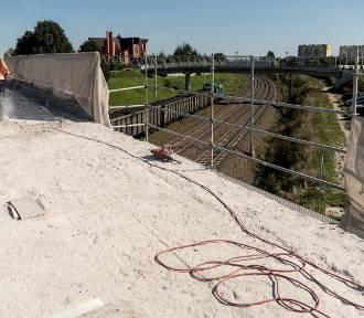 Trwa remont wiaduktu na Przemysłowej