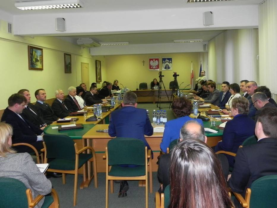 Inauguracyjne posiedzenie Rady Miasta Ostrowca Świętokrzyskiego VII kadencji