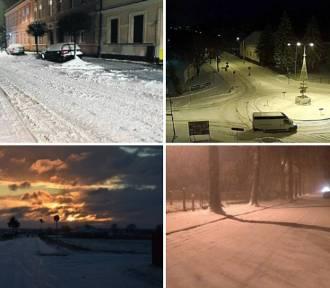 Powiat nowotomyski: Przypominamy, jak wygląda... śnieg [ZDJĘCIA]