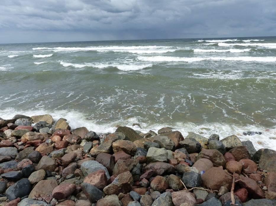 Przylądek Rozewie jest najdalej wysuniętym na północ skrawkiem polskiego lądu