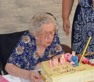 Charlotta Cepa ze Zdun skończyła 100 lat! [ZDJĘCIA]