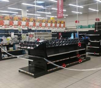 Dąbrowa Górnicza: Wielka promocja w likwidowanym Auchanie